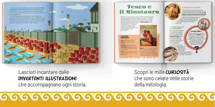 Mitologia per bambini libri per bambini