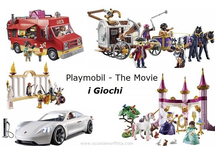 Playmobil The Movie Giochi