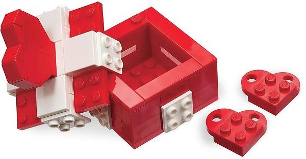 Lego scatola San Valentino