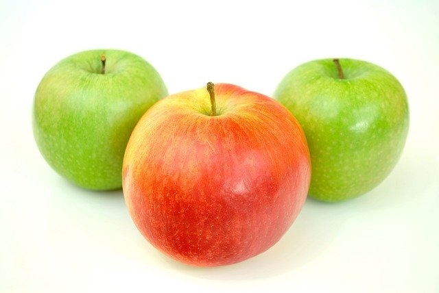 educazione alimentare per bambini mele