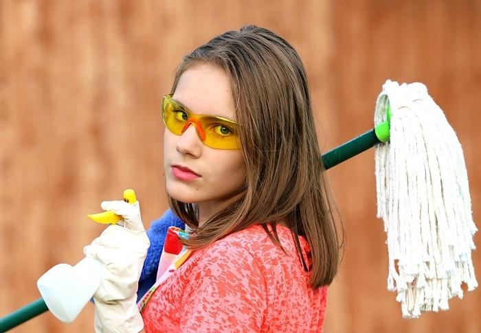 voglia di pulire casa