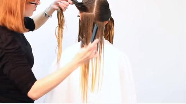 Come tagliare le punte dei capelli