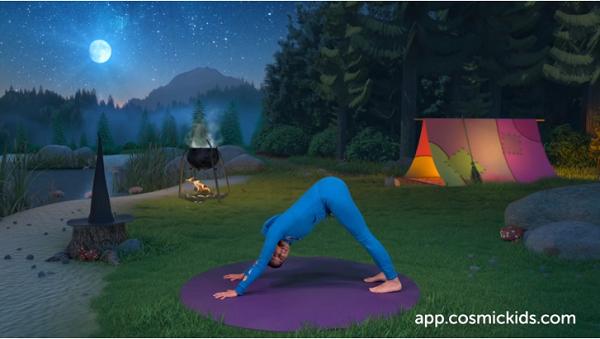 yoga per bambini su youtube