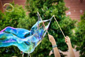 bolle di sapone giganti come fare