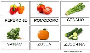 carte delle verdure