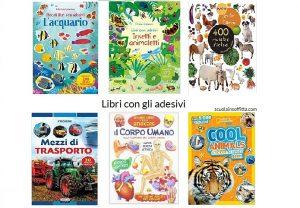 libri con gli adesivi per bambini