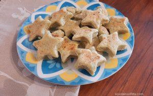 Biscotti salati al pesto in padella