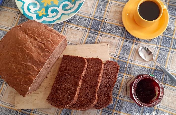 Ricetta per fare il pane salato al cacao