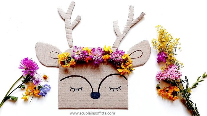 Attività con i fiori motricità fine