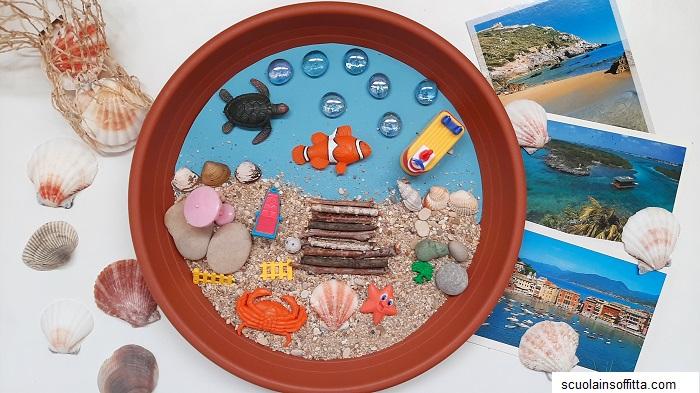 Attività sulle vacanze al mare
